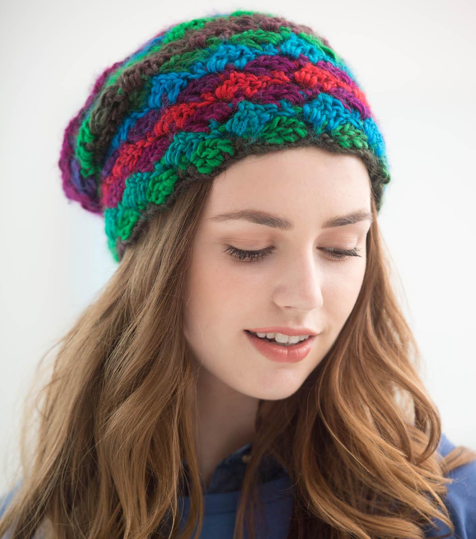 How To Crochet A Crosshatch Hat Joann
