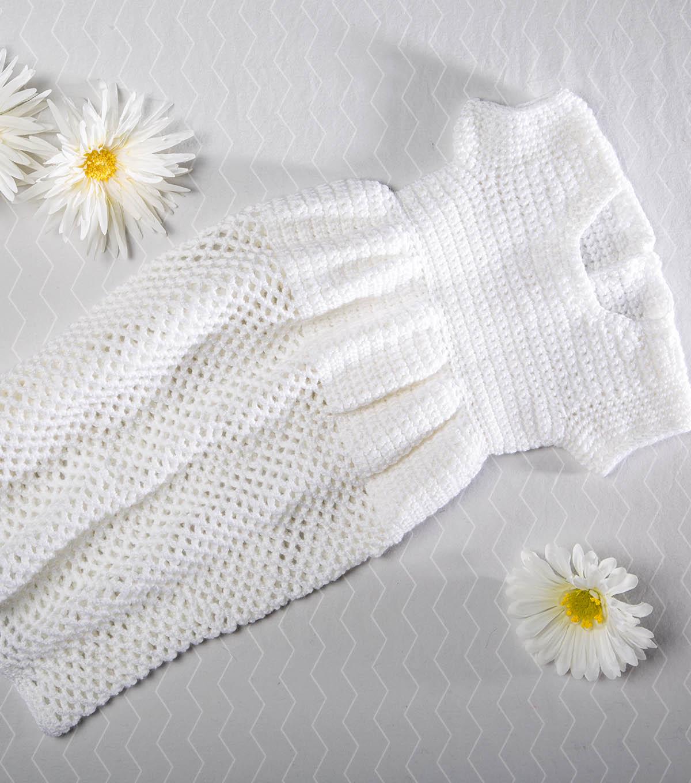 Crochet a christening gown joann crochet a christening gown izmirmasajfo