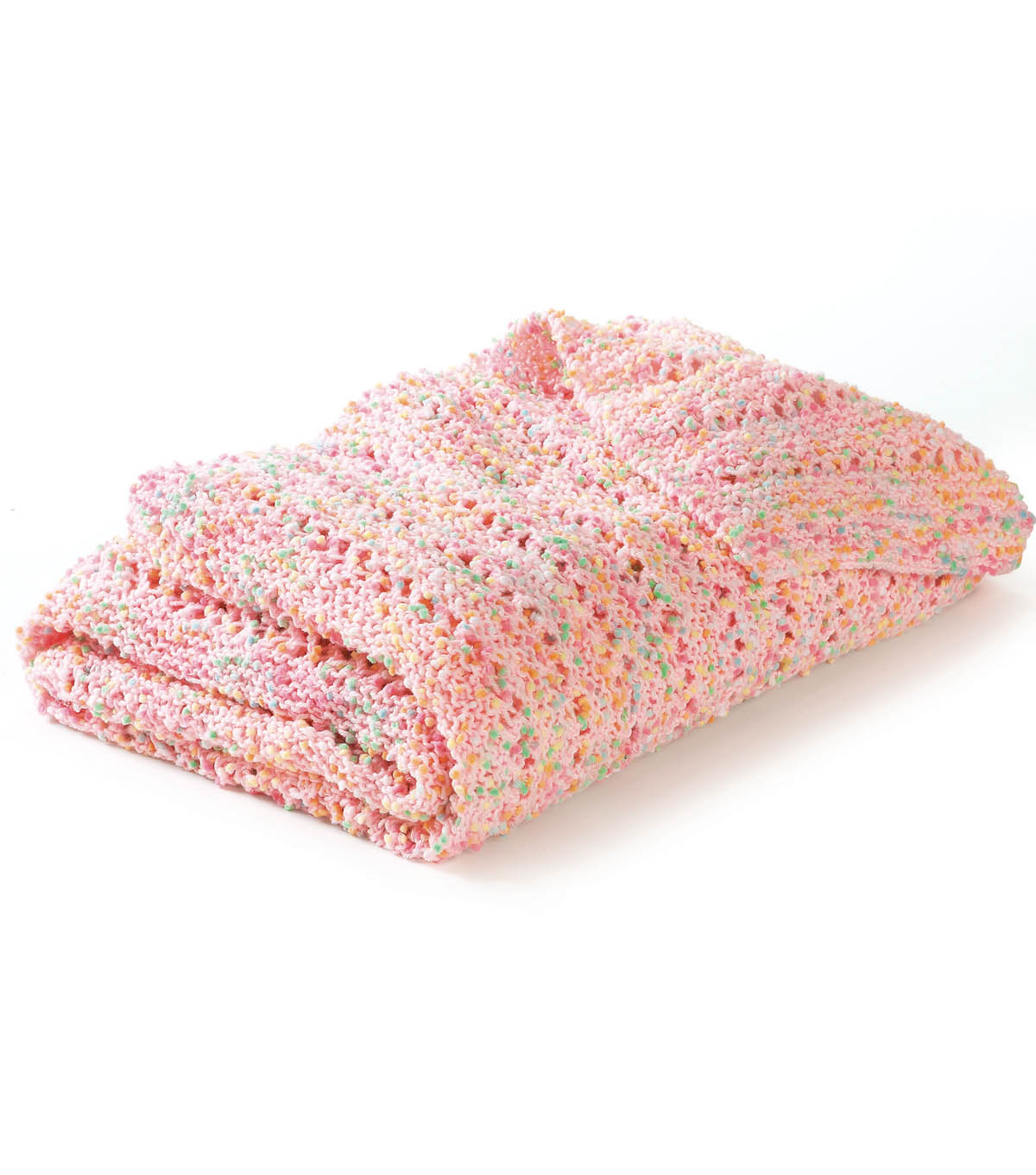 Dippy Dots Knitted Blanket