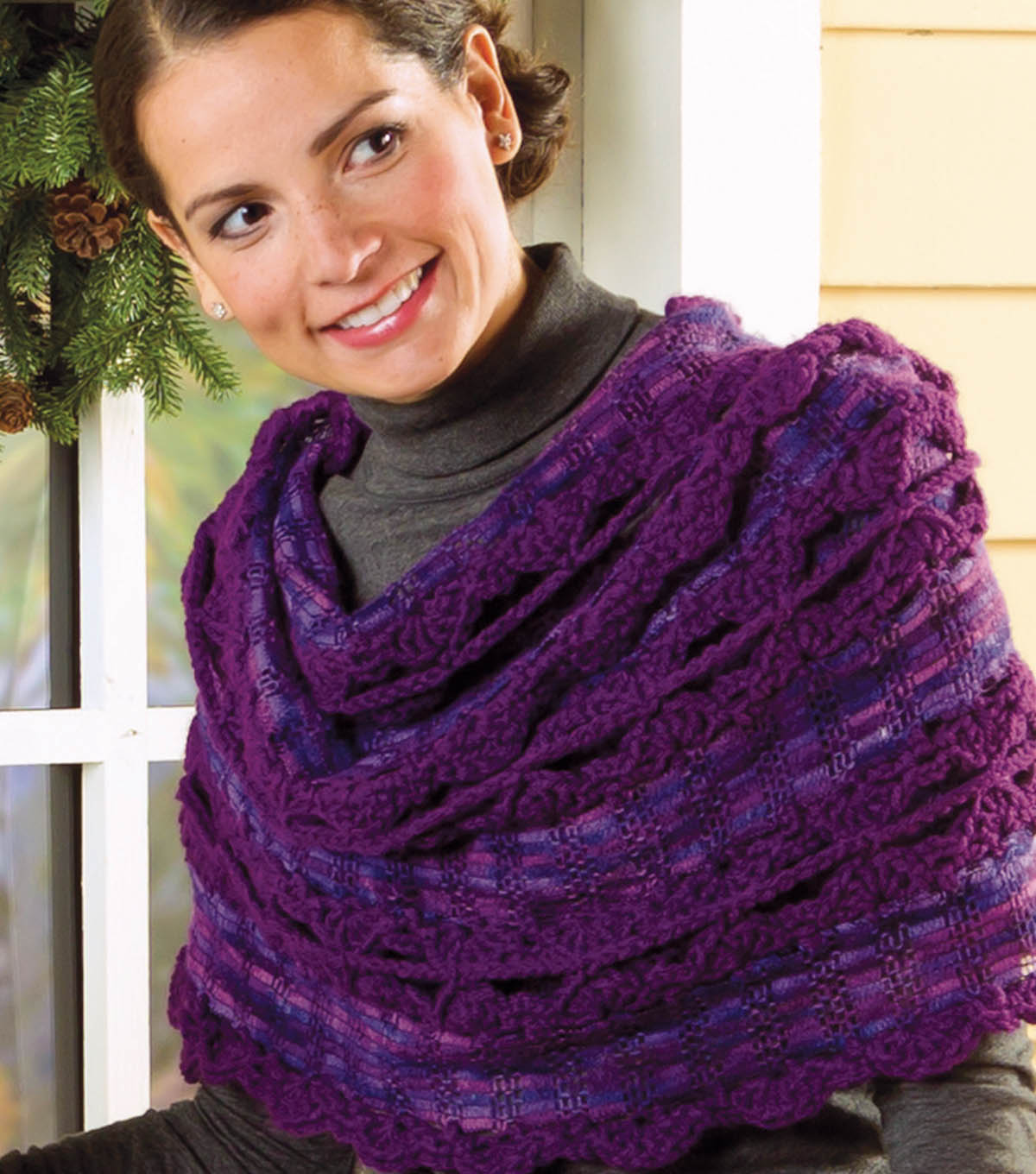 Wrap and Go Shawl