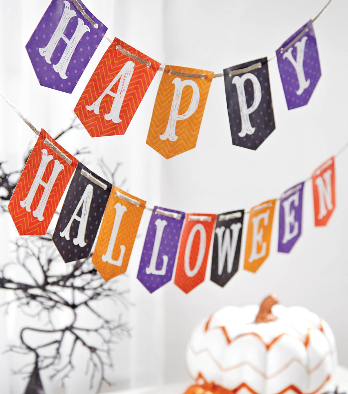 It's just a photo of Halloween Banner Printable with regard to happy