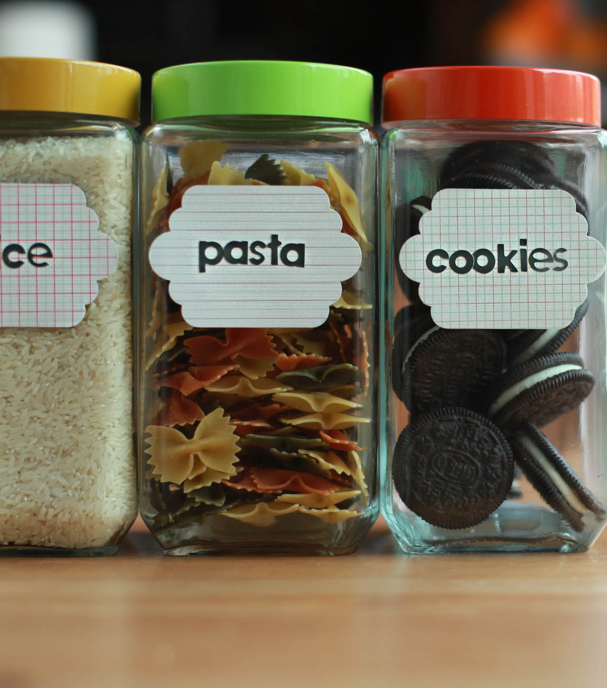 How To Make Pantry Tag Labels