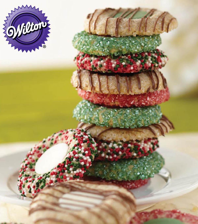 Thumbprint Candy Melts Christmas Cookies Joann