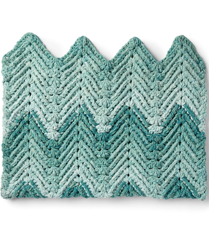 How To Make A Bernat Baby Blanket Dappled Ridged Crochet Baby