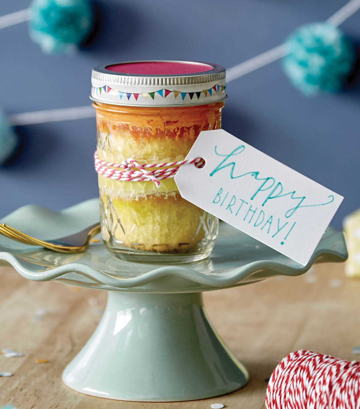 Prime How To Make A Birthday Cake In A Jar Joann Personalised Birthday Cards Veneteletsinfo