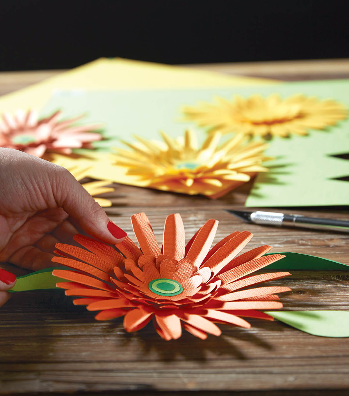 How To Make Gerbera Daisy Paper Flowers Joann