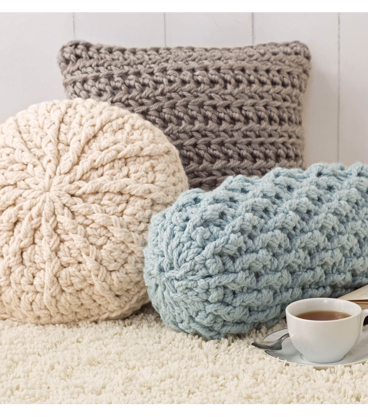 Cozy crochet pillows joann cozy crochet pillows bankloansurffo Image collections