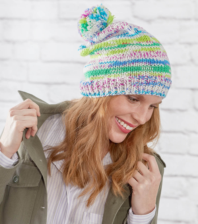 f71a3286a45 How To Make A Knit Fair Isle Hat
