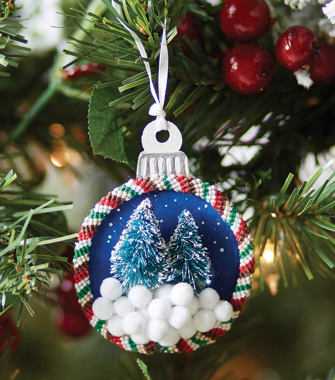 Homemade Christmas Ornaments - Pine Tree Ornaments | JOANN
