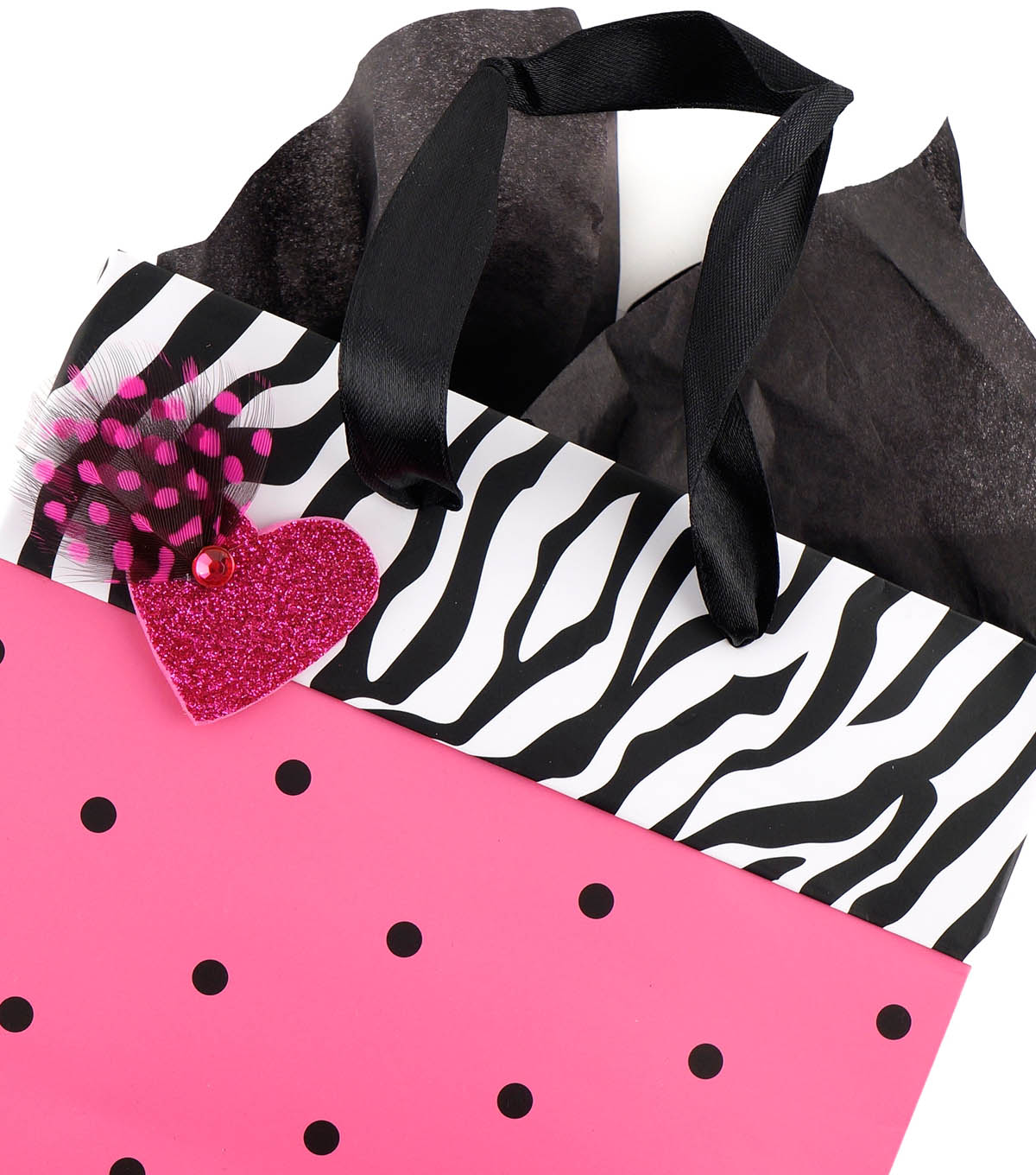 Feathered Gift Bag