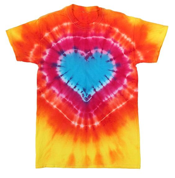 aab76d76d9 How to Heart Tie Dye - Heart Tie Dye Shirts | JOANN