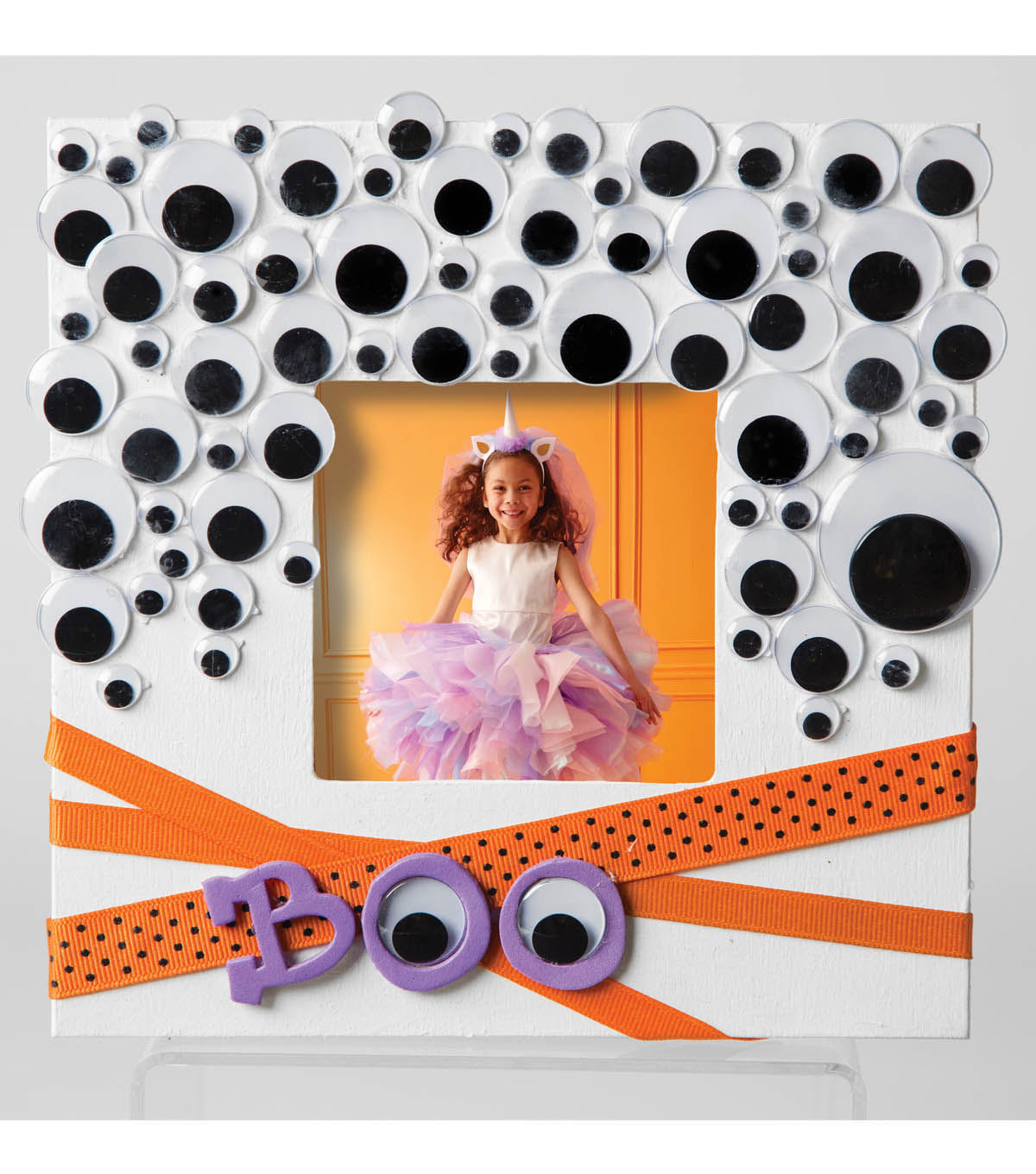 Googly Eye Photo Frame