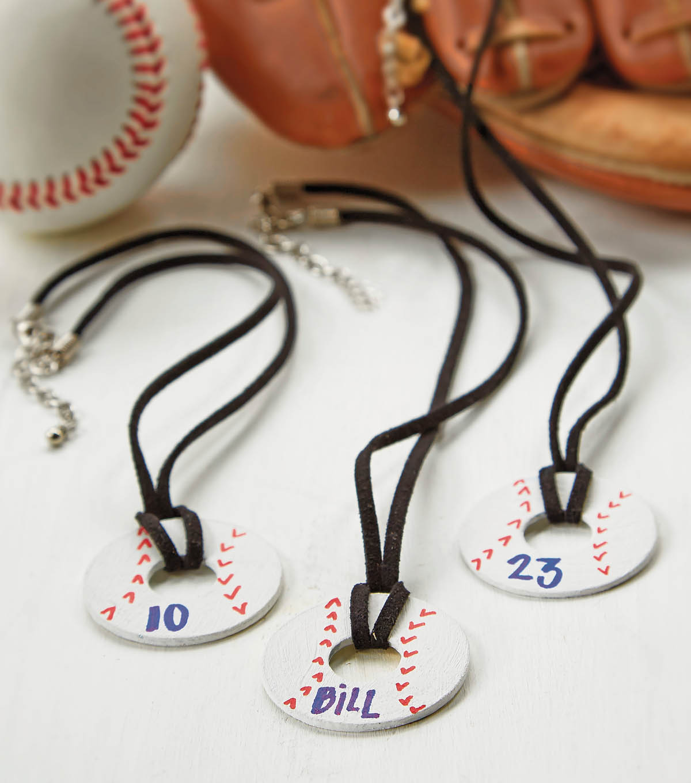 Baseball Necklace Joann