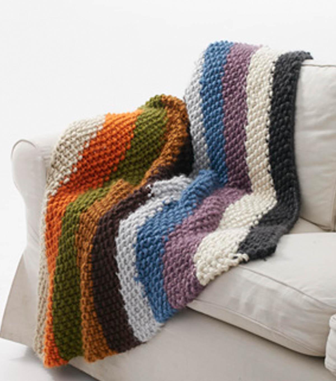 Stripe Mega Bulky Blanket | JOANN