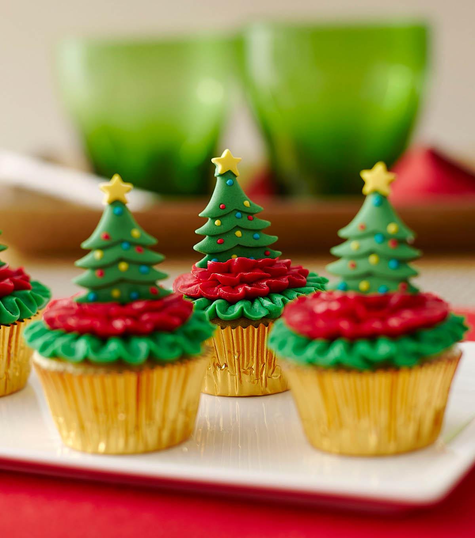 How to Make Christmas Tree Cupcakes | JOANN