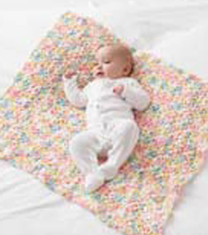 Baby Pom Pom Crochet Blanket | JOANN