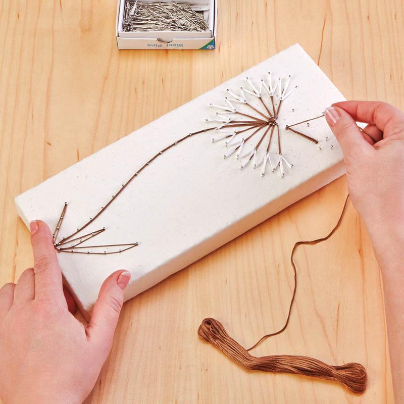Dandelion String Art