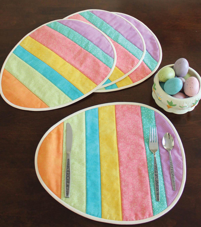 Easter Egg Placemats Joann