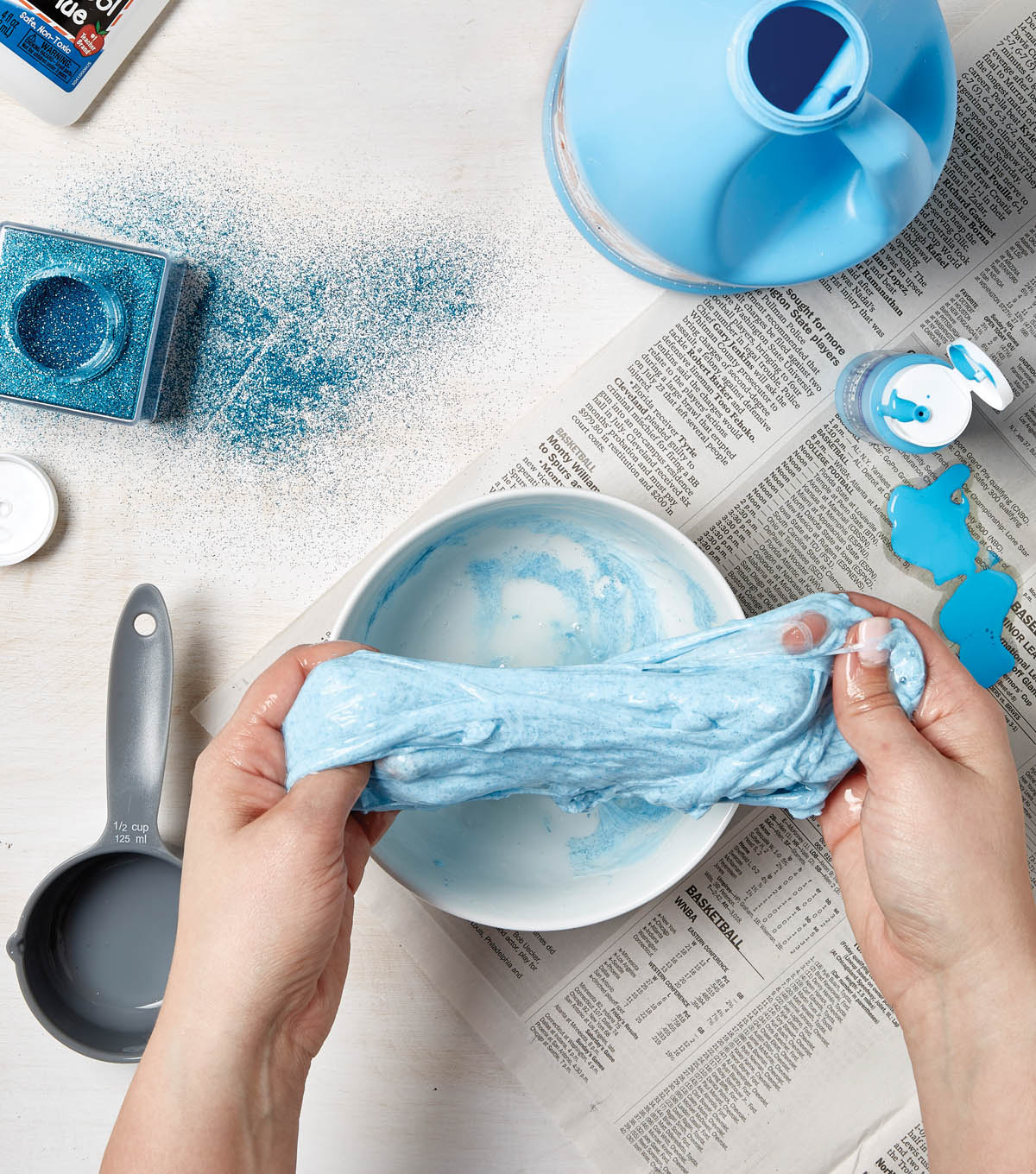 How To Make Slime with Glue & Paint | JOANN - photo#23