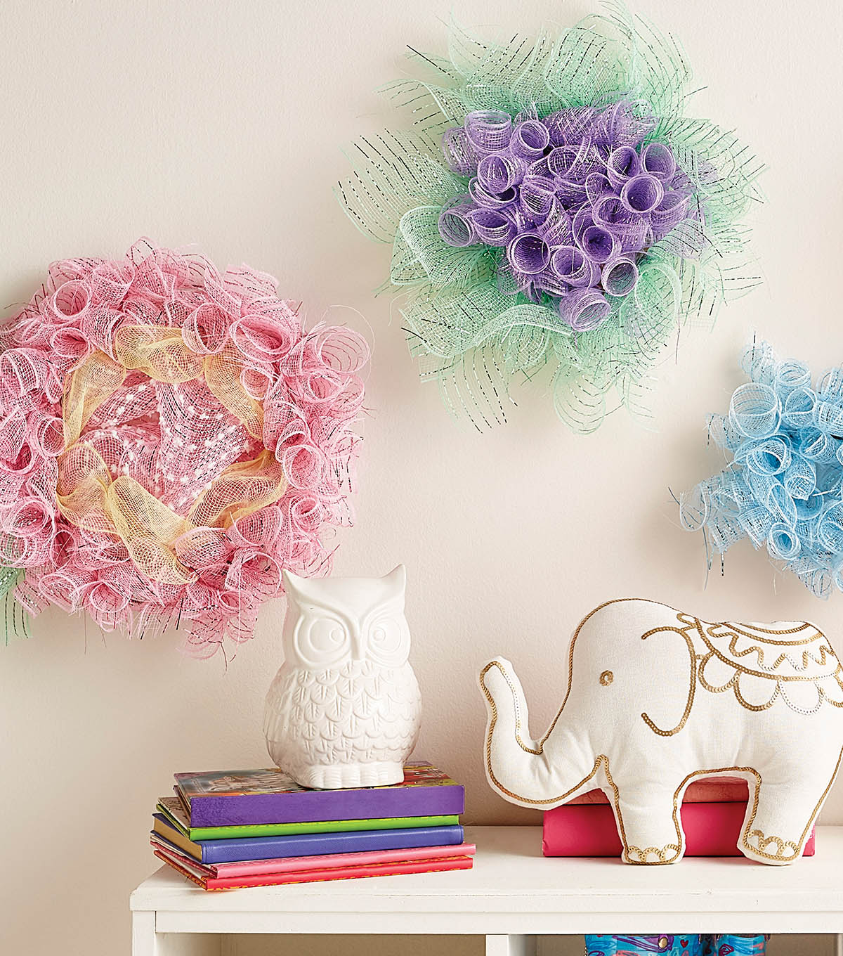 How To Make Deco Mesh Flowers