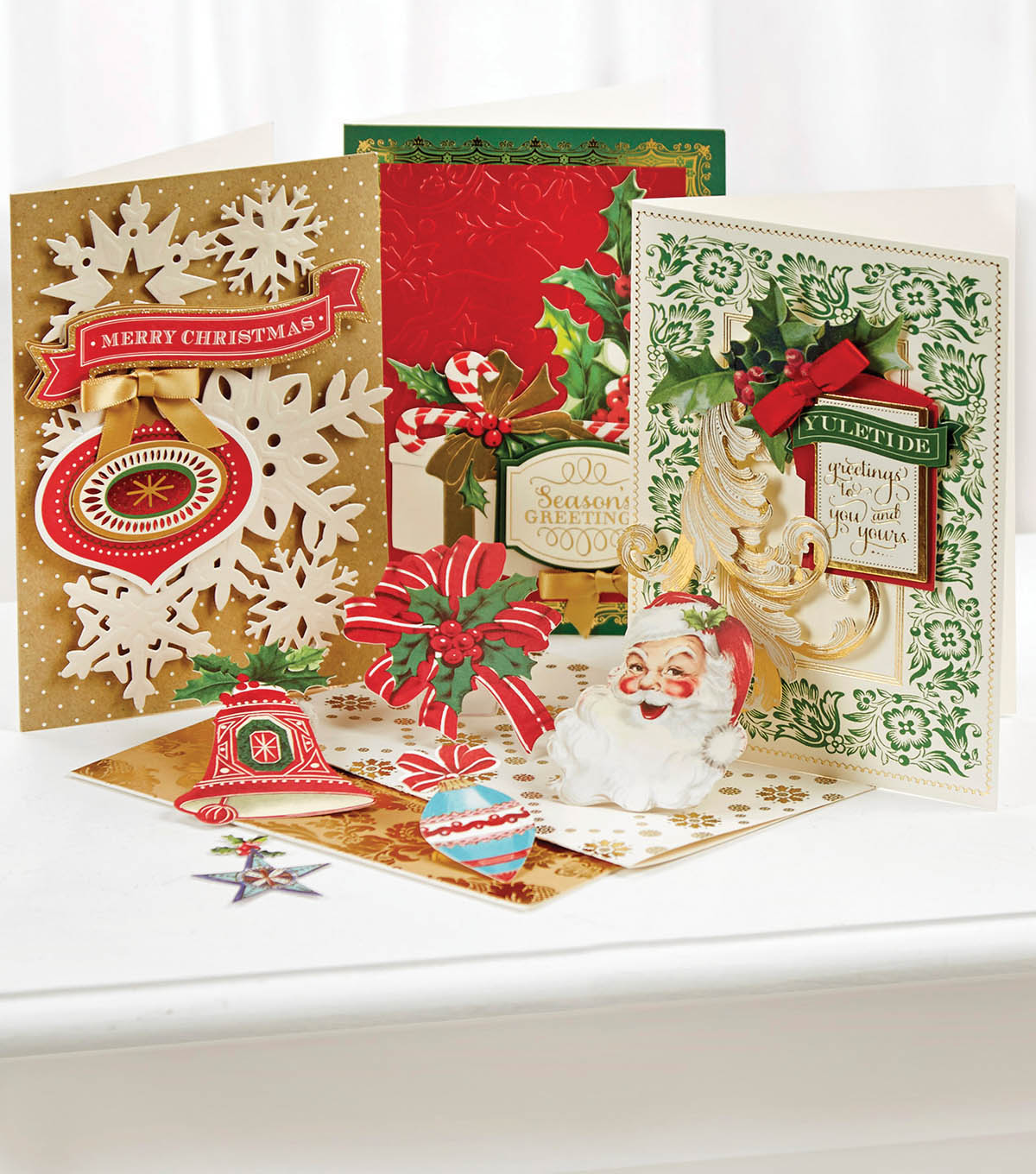 Anna Griffin Christmas Cards.How To Make Holiday Christmas Cards Joann