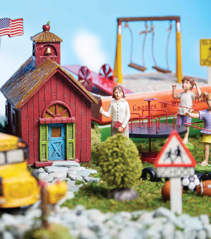 Dollhouse Miniature or Fairy Garden Large Ceramic Sunflower Stem