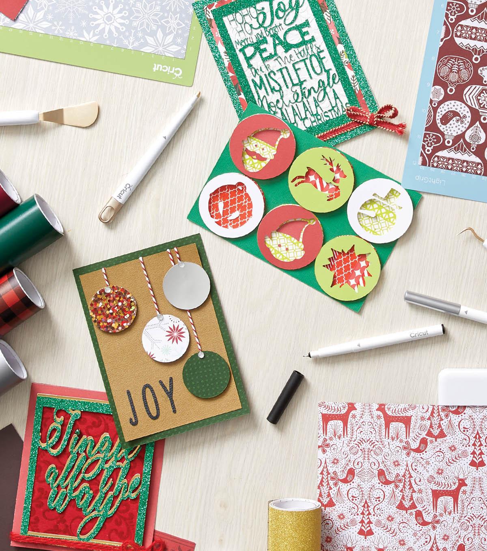 How To Make Cricut Christmas Cards | JOANN