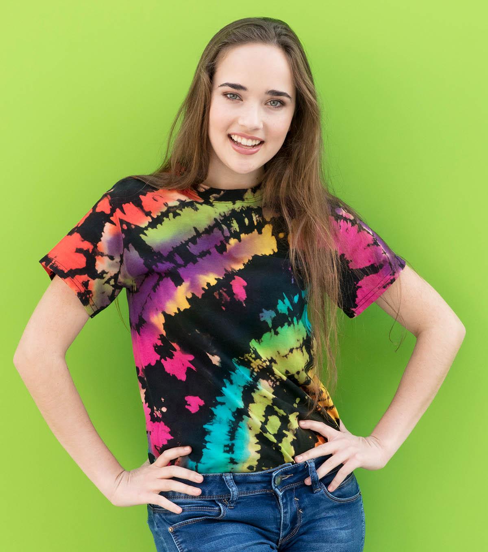 a1609bf612f9a How To Make a Reverse Tie-Dye Shirt | JOANN