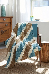 Slanting Stripes Blanket