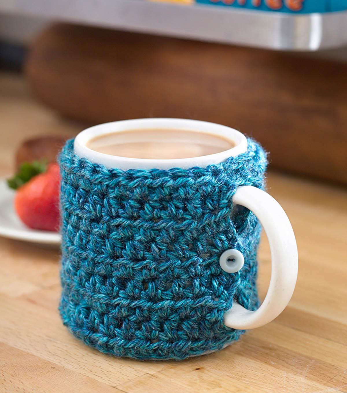 One stitch Mug Cozy | JOANN