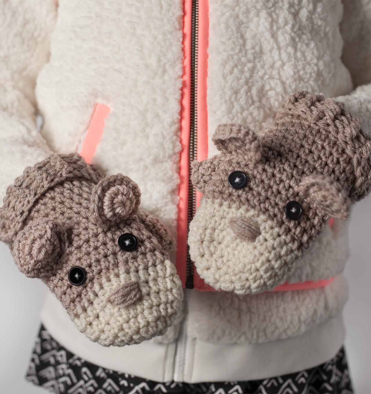 How To Crochet Critter Mittens Joann