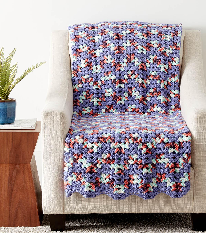 How To Make A Zig Zag Granny Crochet Afghan   JOANN