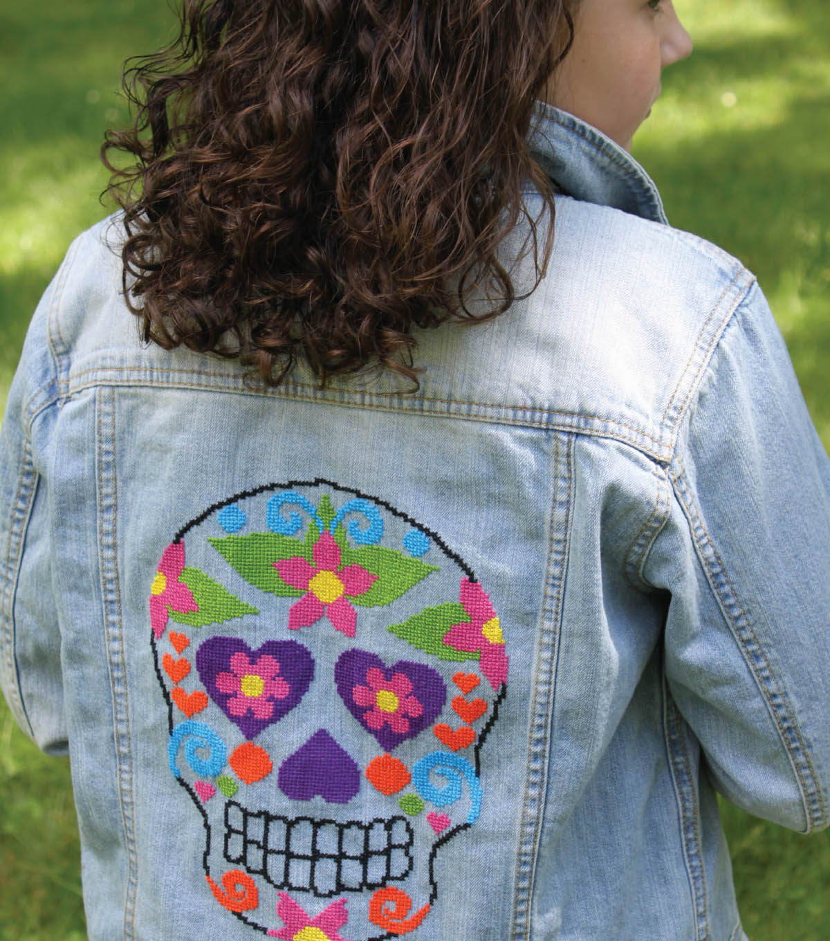 Cross Stitch Sugar Skull