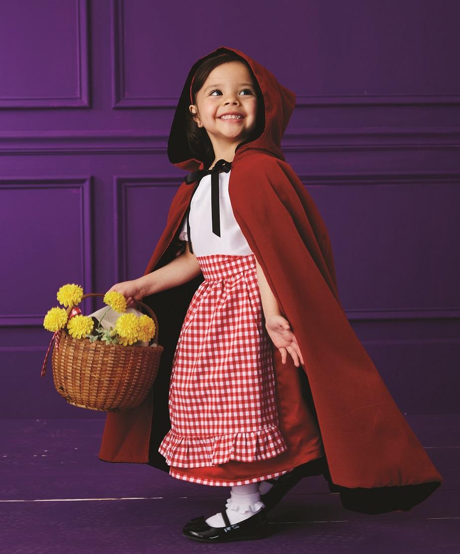 Diy Little Red Riding Hood Costume For Kids Joann