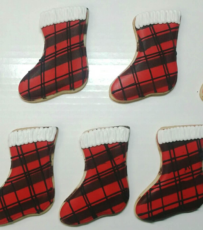 How To Make Christmas Cookies Christmas Stocking Cookies Joann