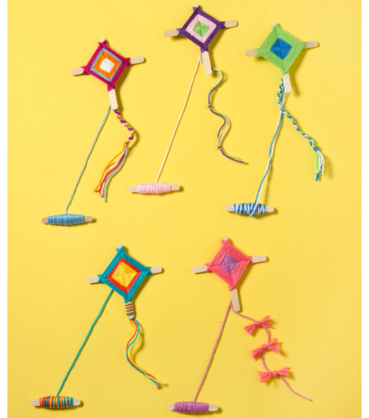 how to make yarn kites joann
