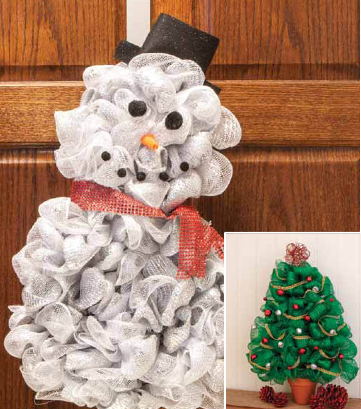 Wire Frames Snowman And Christmas Tree How To Sheet Joann