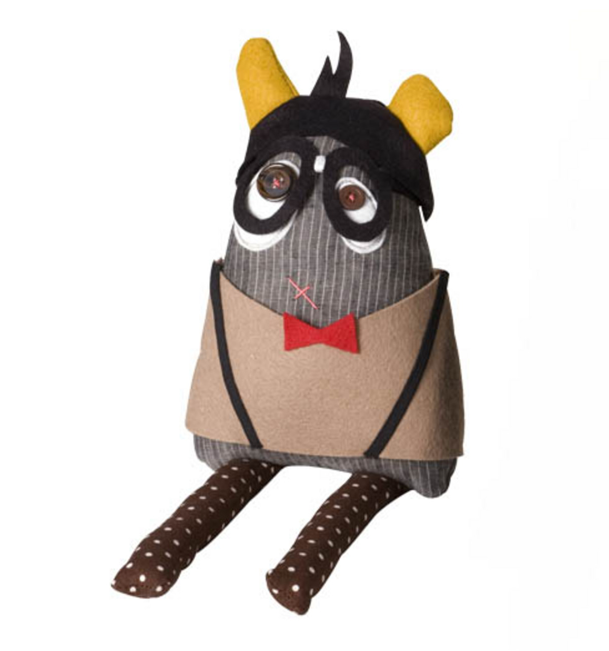 Geek Costume for Monster Doll