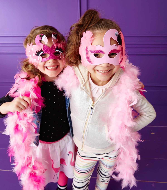 flamingo mask - diy halloween costumes | joann