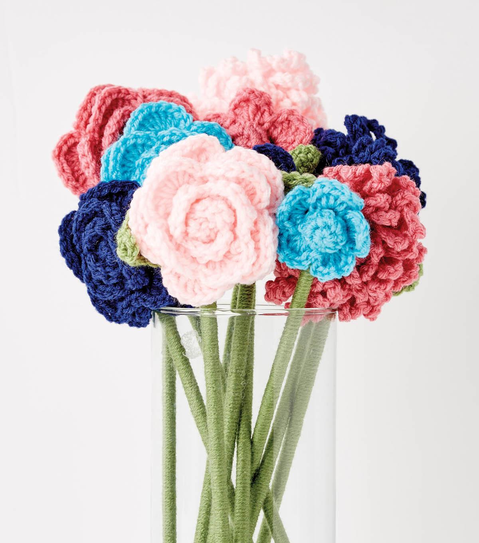 Make crochet flowers joann make crochet flowers izmirmasajfo