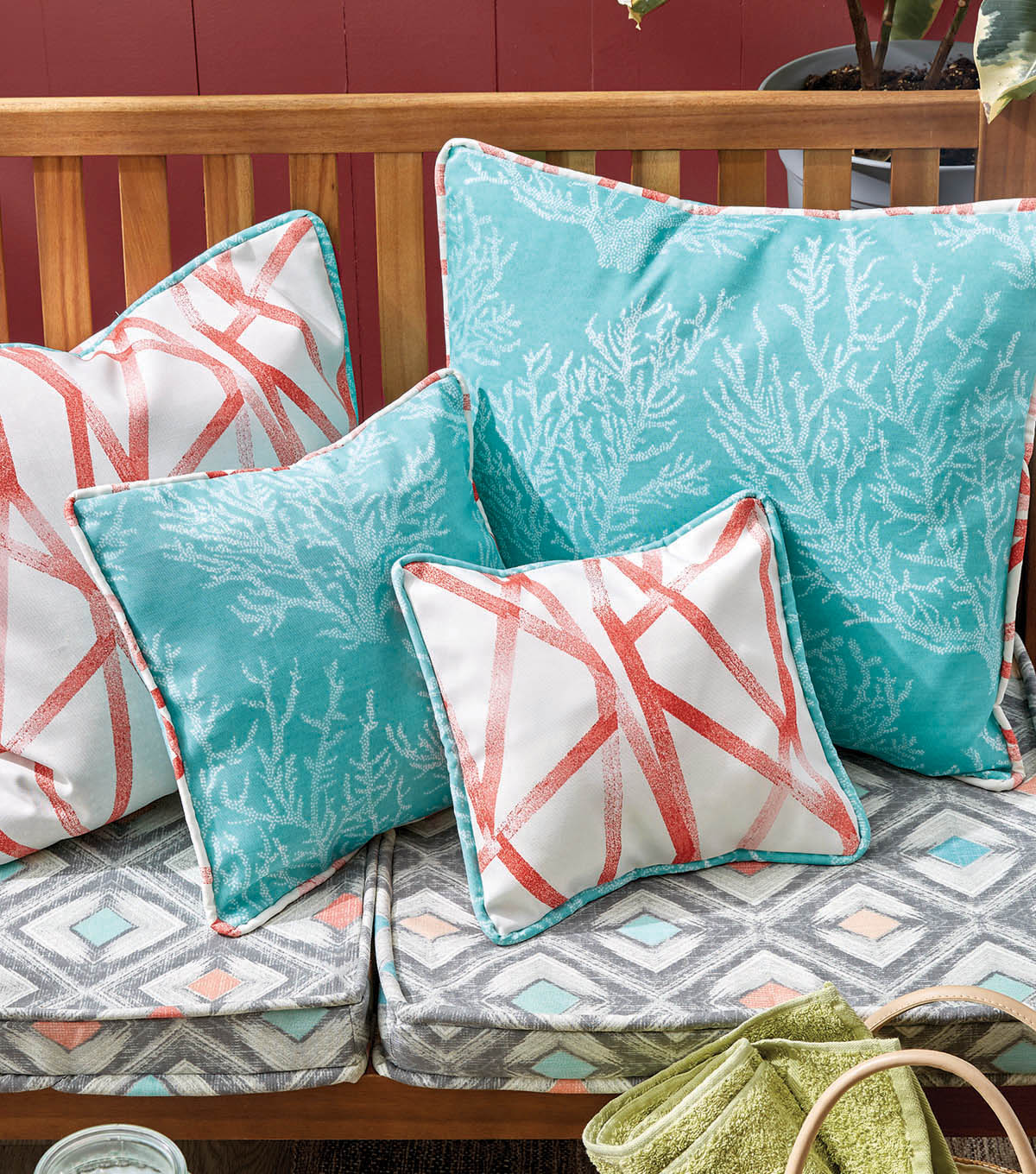 How To Make A Patio Cushions With Coordinating Pillows | JOANN