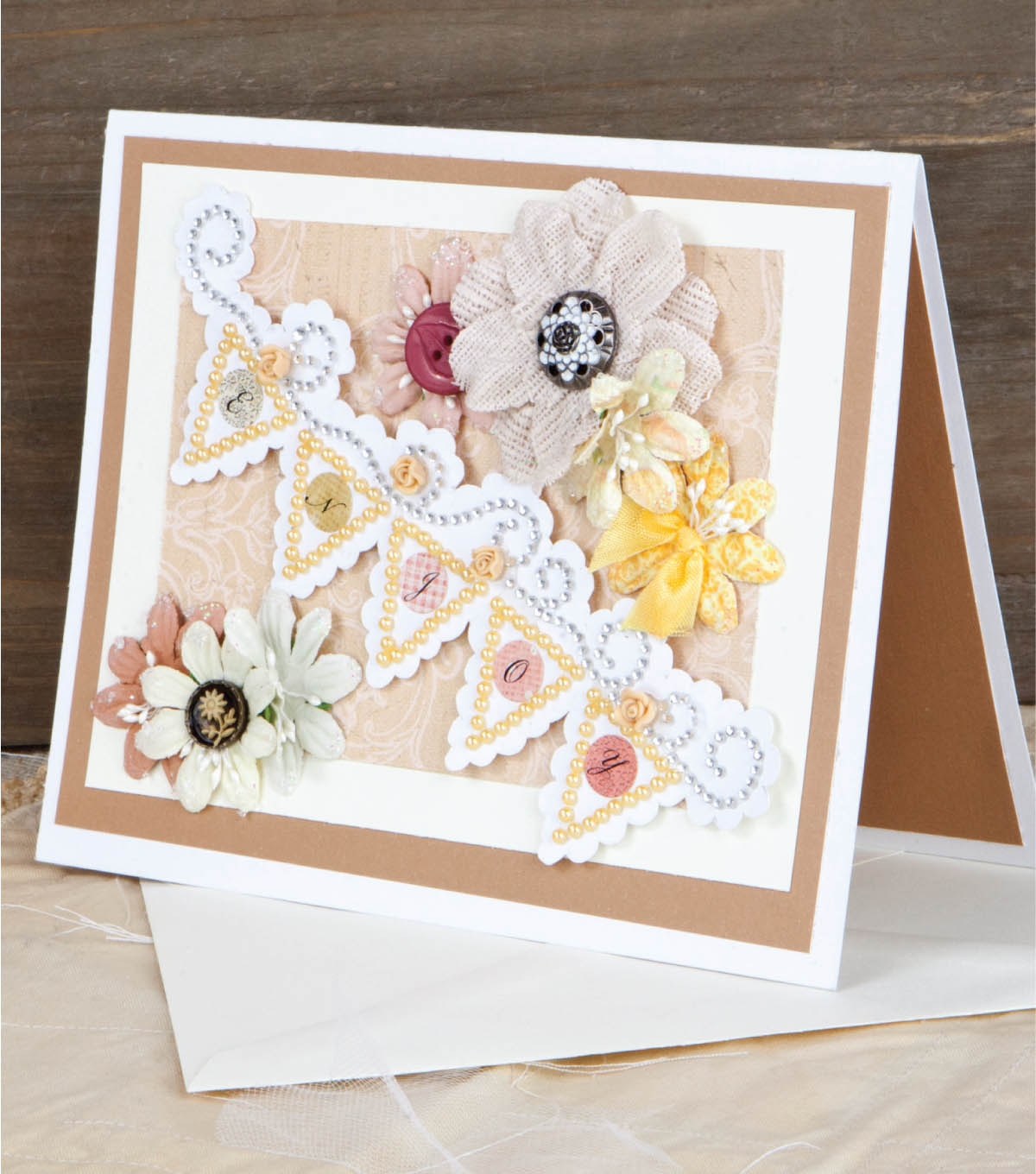 \u0022Enjoy\u0022 Banner Card