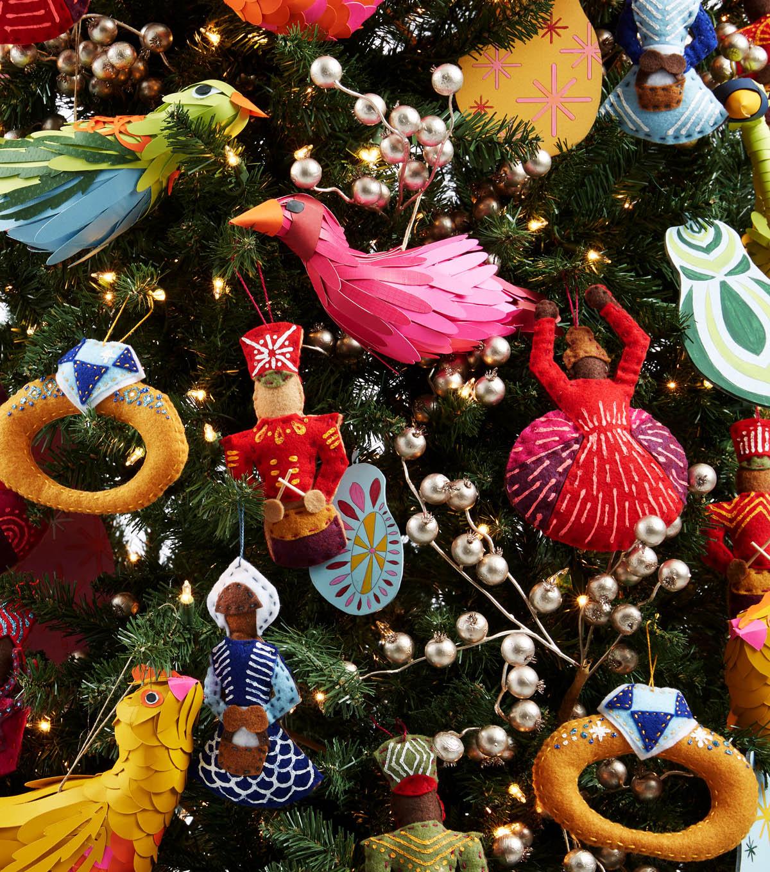 How To Make 12 Days Of Christmas Felt Ornaments Joann