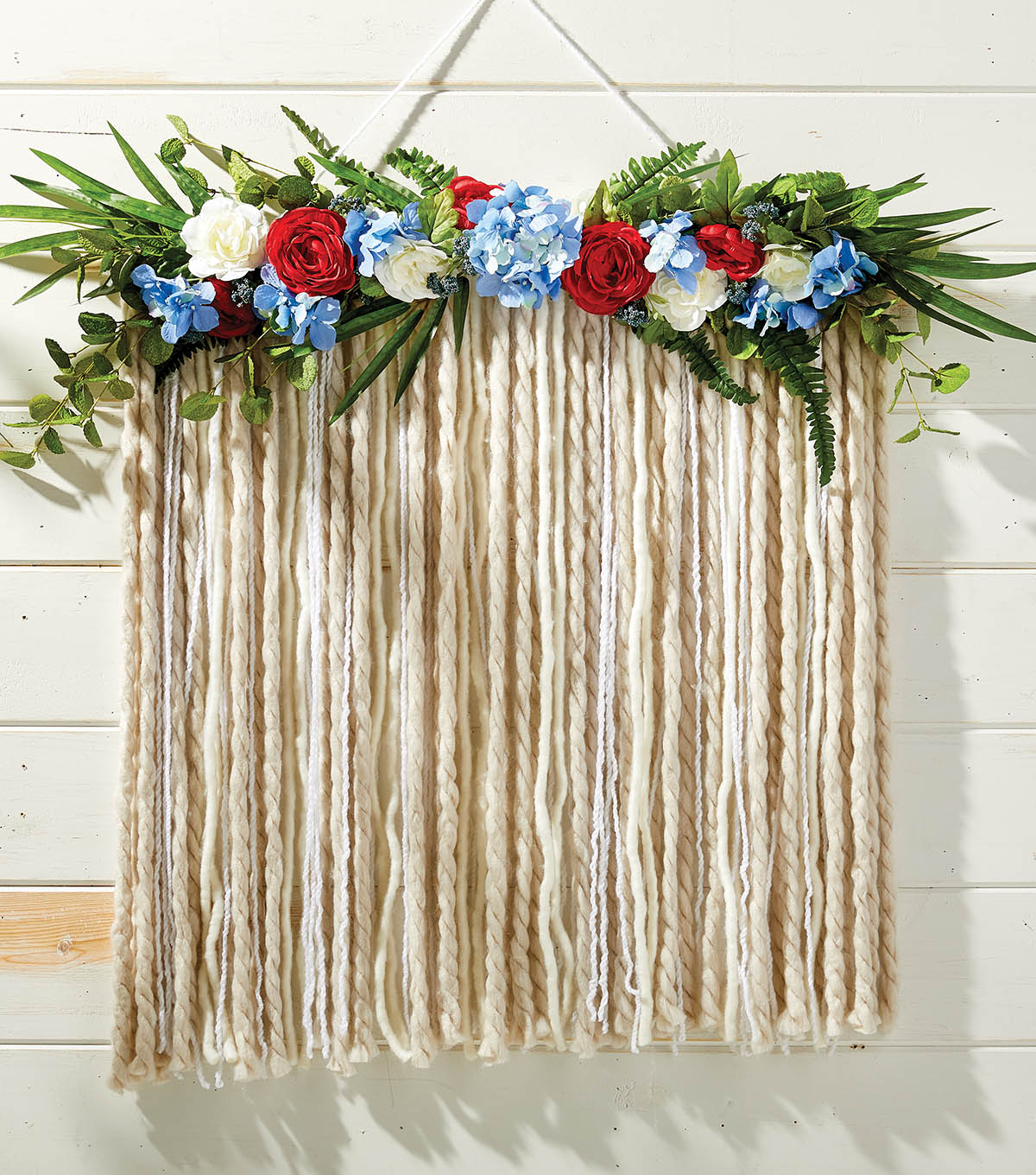 How to Make A Floral Garland Backdrop | JOANN