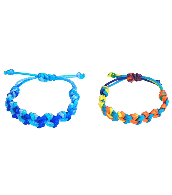Double Knot Macrame Bracelet