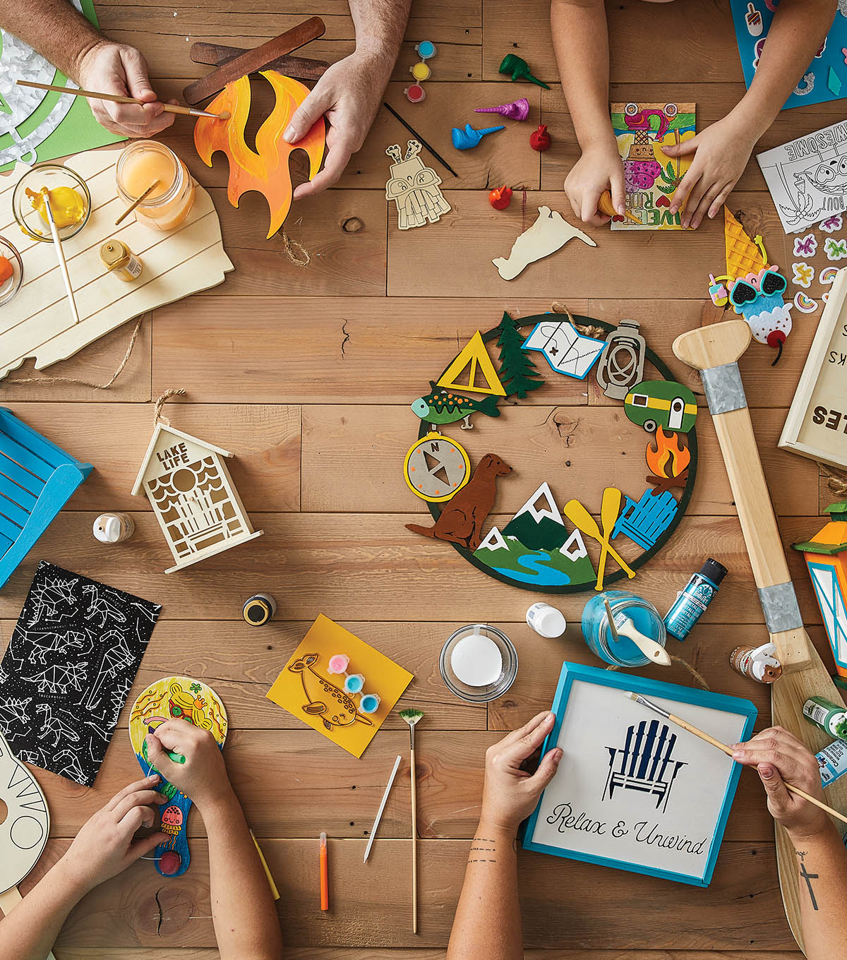 Summer Camp Art Projects
