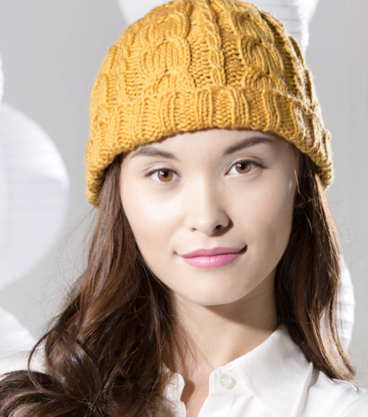 How To Knit A Gold Cable Hat