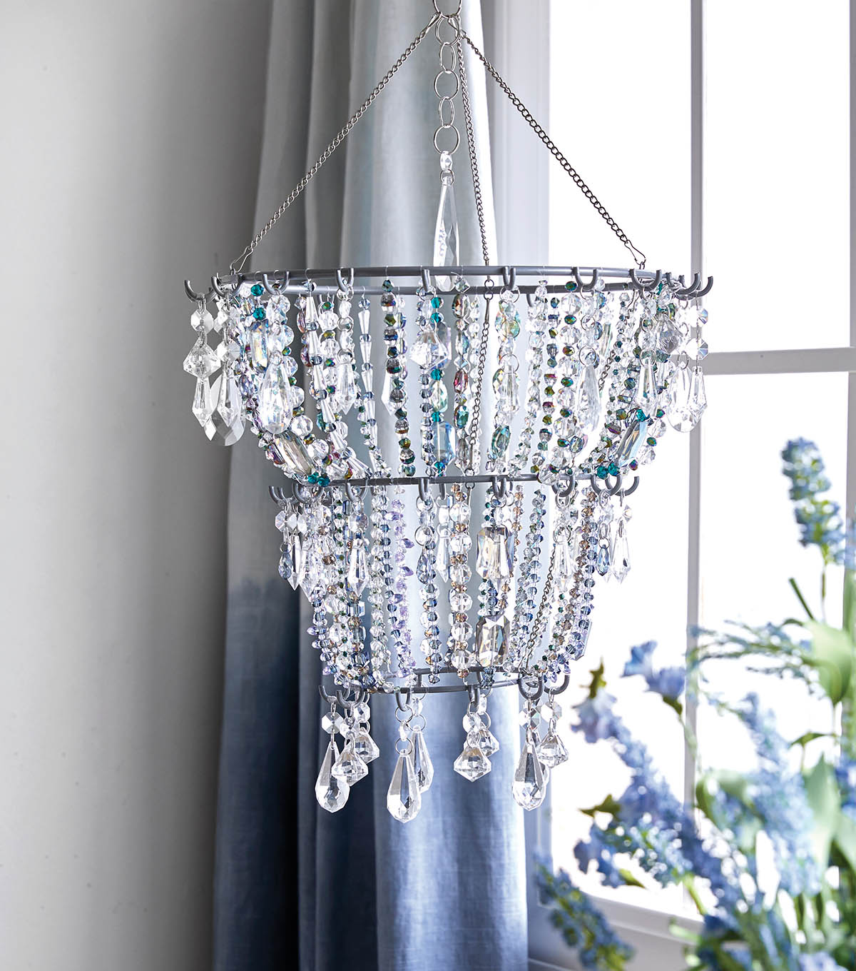 How To Make A Beaded Chandelier