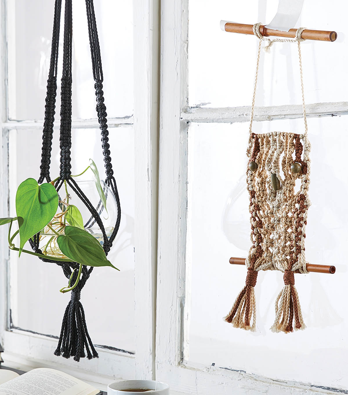 How To Make A Macrame Plant Hanger Joann