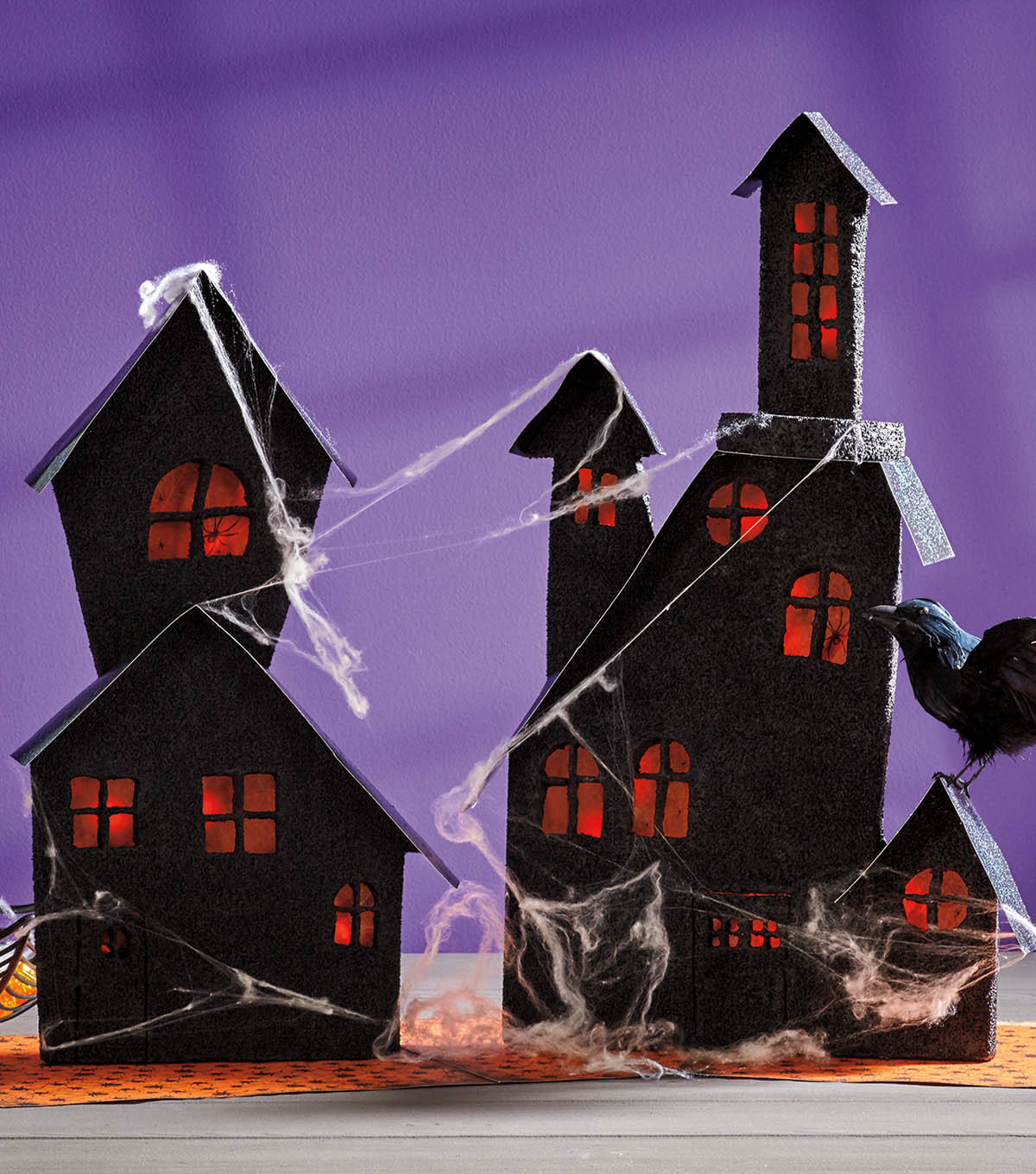 How to Make Lighted Haunted Houses